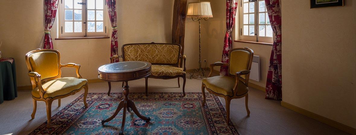 chambre d 39 h tes saumur la suite verte le patio saumur. Black Bedroom Furniture Sets. Home Design Ideas